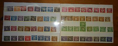 Postage Dues Fine Collection Varied