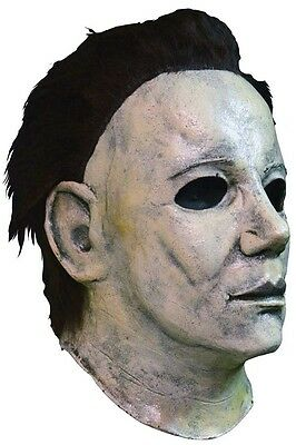 Mens Ladies Deluxe Michael Myers Scary Halloween Fancy Dress Costume Outfit Mask