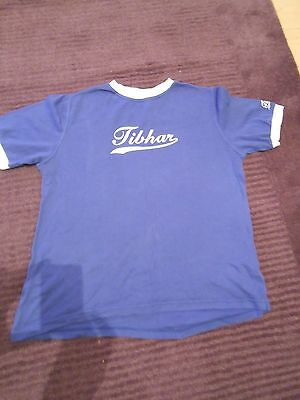 Men's Blue Tibhar T-Shirt UK Size XL