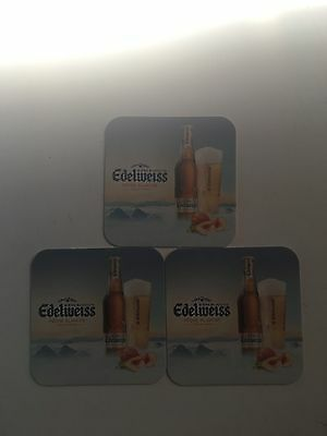3 Sous Verres Edelweiss