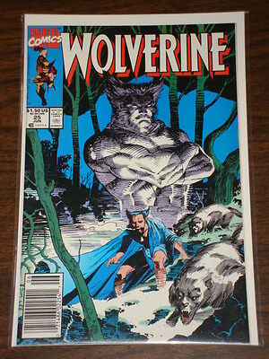 Wolverine #25 Vol1 Marvel Comics X-Men June 1990