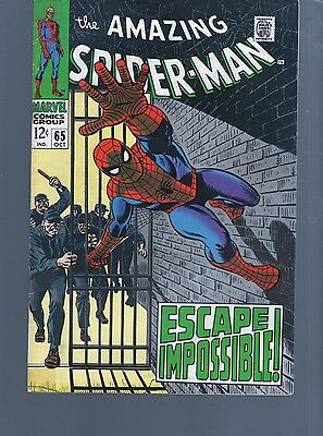 Amazing Spiderman 65  Stan Lee Classic Silver Age  Marvel Comics