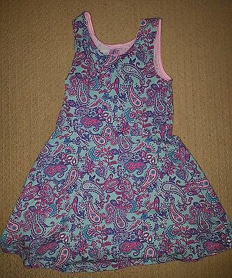girls 5-6 years F&F floral summer dress