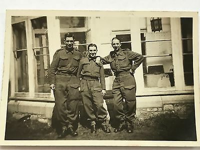 Photograph WW2 Territorial Army Soldiers British Expeditionary Force BEF 5