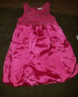 girls 3-4 years George pink party dress