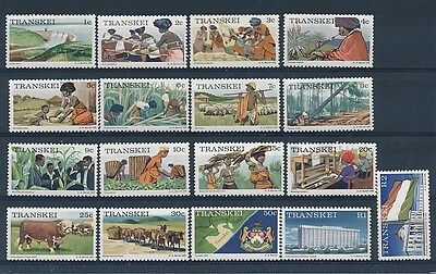 D143526 Traditional Costumes Agriculture MNH Transkei