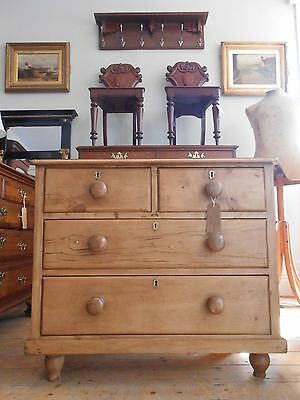Charming Victorian Pine Chest of Drawers *Nationwide delivery available*