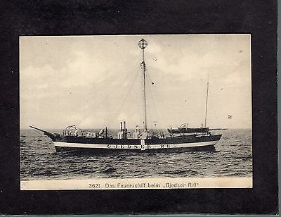 """Gjedser Riff"" Lightship Germany postcard"