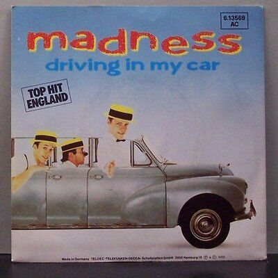 "(o) Madness - Driving In My Car (7"" Single)"