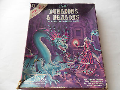D&D Dungeons & Dragons Basic Set TSR 1981