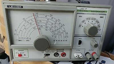 Leader LSG-17 Signal Generator. Made In Japan