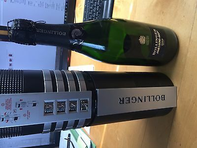 James Bond Bollinger (empty) 50th Anniversary  limited edition 002 for 007 RARE