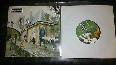 """Rare Oasis - Some Might Say 7"""" from 1995"""