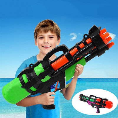 Large Water Gun Pump Action Super Soaker Sprayer Outdoor Beach Garden Toy