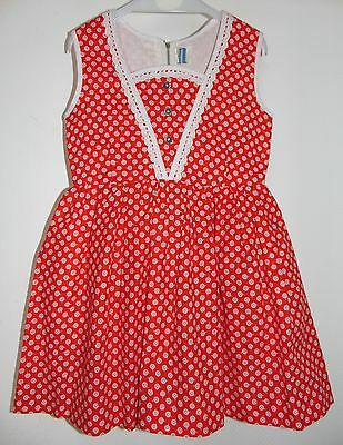Vintage Bambino, Immaculate Girls Dress, Cotton Embroidery Anglais 110, 2 Years