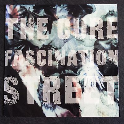 "The Cure Fascination Street USA 7"" Picture Sleeve Punk New Wave Siouxsie"