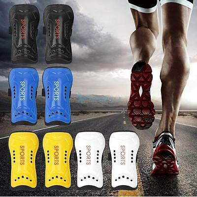 2 Pcs Football Soccer Shin Guards Pads Shinguards Protector Ankle Support Boys