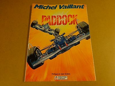 Strip 1° Druk / Michel Vaillant - Paddock