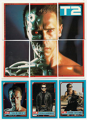 Terminator 2 Judgement Day - Complete Card Set (1-44) 1991 Topps @ Near Mint