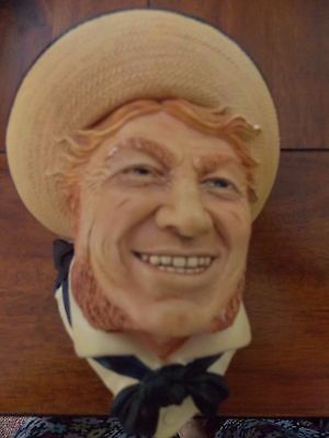 Bossons Jolly Tar Chalk Head Face Plaque