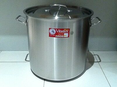 Brand New Stainless Steel Stock Pot 50L