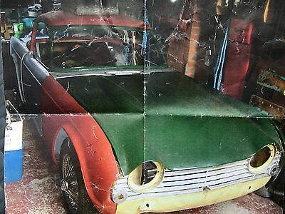 Triumph TR4A 1965 Project with Surrey Top