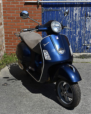 Vespa 125 GTS spares or repair, 29,000m and rusty