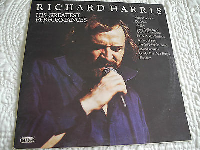 RICHARD HARRIS- His greatest performances -1972-SPB 1075- A.1/B.1-1st press-excl