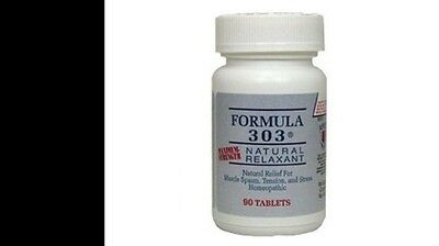 Formula 303 - 90 tablets/bottle (free shipping) NEW by Dee Cee Labs Exp 11/2020