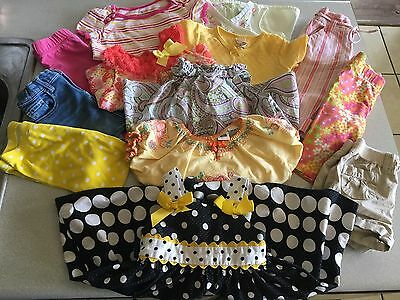 13 Piece Infant Girls Lot of 2T/3T Spring/Summer Clothing