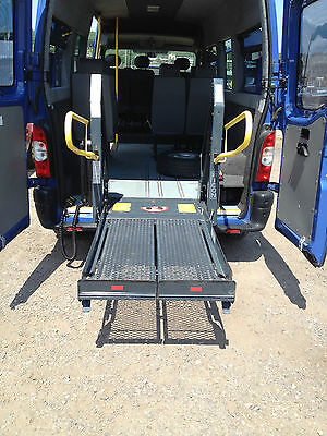 Ricon S Series wheelchair lift and standee