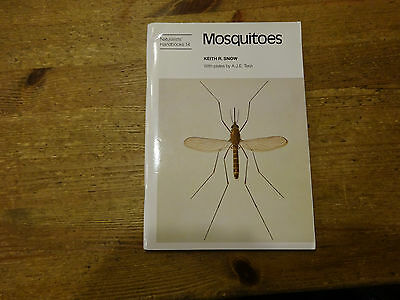 Mosquitoes by Keith R.Snow Naturalists Handbooks No.14