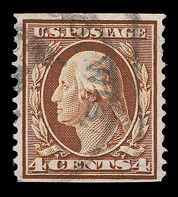 Genuine Scott #354 Postally Used 1909 Perf-12 Coil Single Scv $275 - Estate Sale