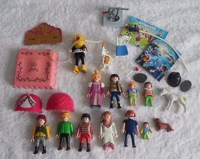 Large Lot Of Playmobil Figures, Catalogues & Accessories