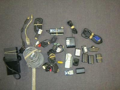 lot of 20 DEFECTIVE Microsoft related cables and acceessories