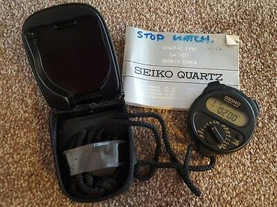 Seiko digital type, timer/ stop watch S321