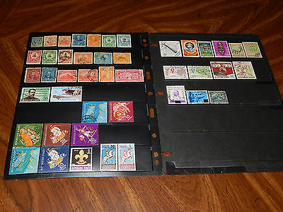 Haiti stamps - BIG lot of 44 mint hinged and used early stamps - super !!