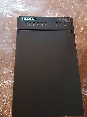 Siemens SIMATIC NET 6GK5204-2BC00-2AF2 SCALANCE XF204-2 managed IE Switch
