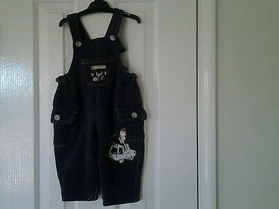 Baby Patch boy overalls size 6-9 months stretchy comfortable warm material