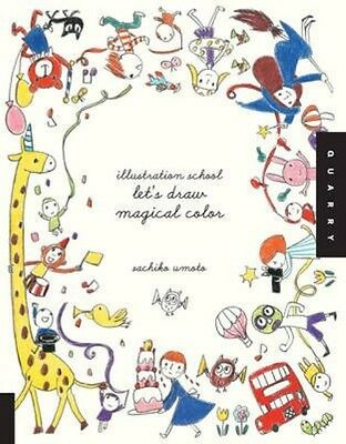 Let's Draw Magical Color by Sachiko Umoto Paperback Book (English)