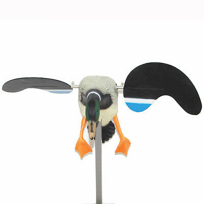 Hunting Duck Decoy Electric Flying Motorized Duck With Remote Control