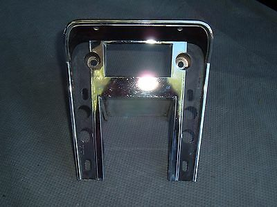 1967 Cougar Mustang Convenience Group Floor Console Radio Bezel Face Plate 67 68