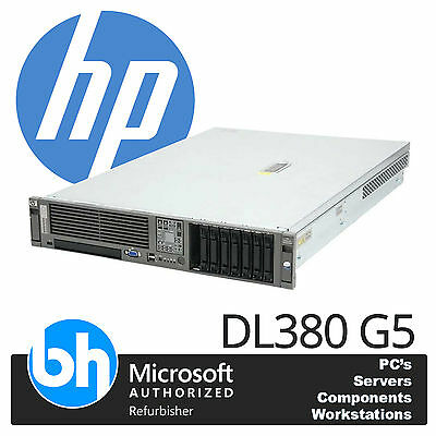 HP ProLiant DL380 G5 2 x Quad Core E5420 2.5GHz 16GB RAM P400 Raid Rackable 2U