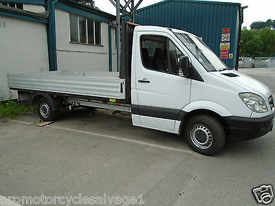 Mercedes Sprinter 311 Cdi Lwb Flat Bed Pick Up 58 Reg 12 Months Mot  No Vat
