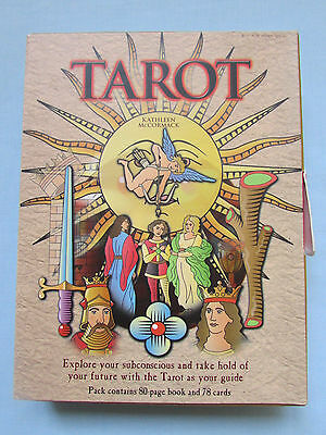 FAB KATHLEEN McCORMACK *TAROT* WITH CARD DECK AND GUIDE BOOK SET