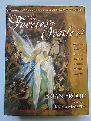 Fab Brian Froud Beautiful *the Faeries' Oracle* Card Deck And Hard Back Book Set