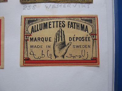 Old Swedish Matchbox Label.design 1.