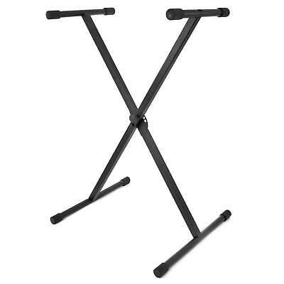 Folding Keyboard Stand - Adjustable X Frame Folds Flat - Genuine Tiger