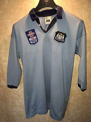 NSW Blues State Of Origin NRL Vintage Shirt Tooheys
