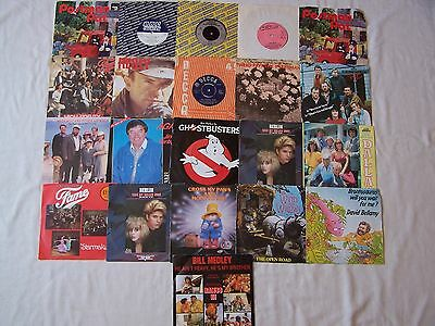 "Collection Of Film Tv Themes / Soundtracks Etc 7"" Singles  X 21"